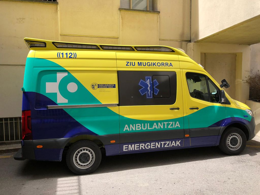 ambulancias vitoria sanitarios