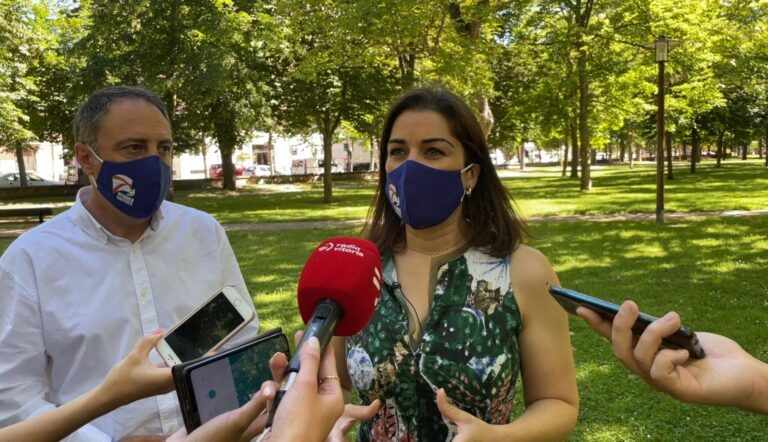 Leticia Comerón Alfredo Iturricha 5 julio Parque de El Prado árboles talados BEi Urtaran