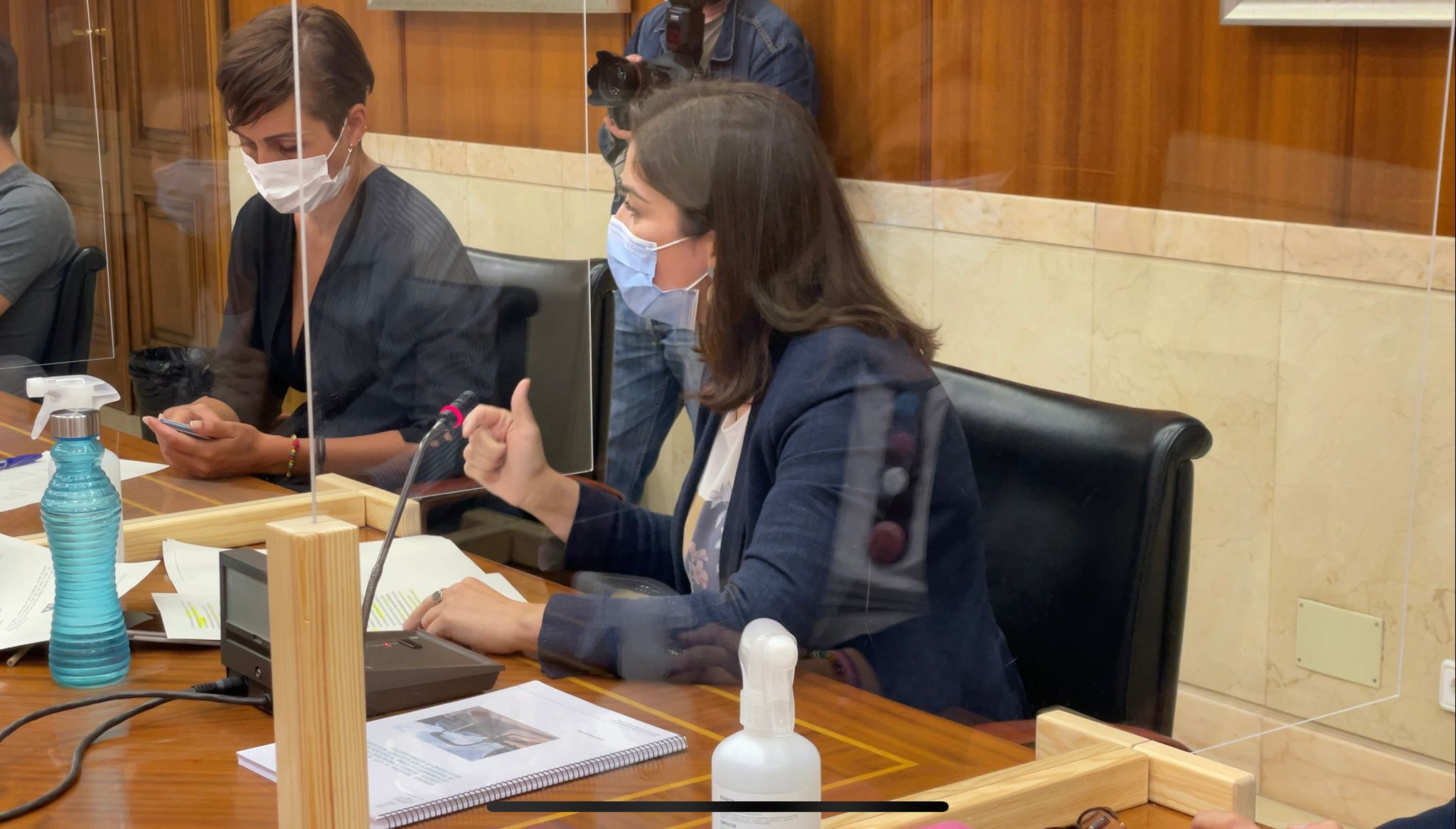 Leticia Comeron comparencia BEI Urtaran