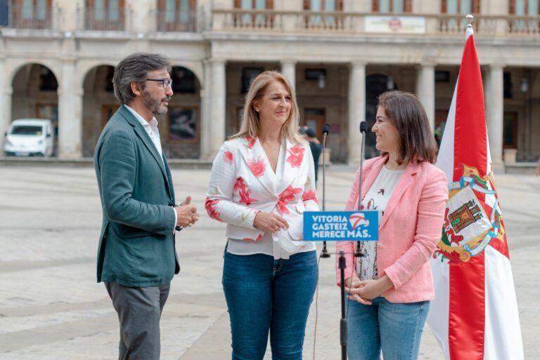 Ainhoa Domaica nueva portavoz PP Vitoria-Gasteiz